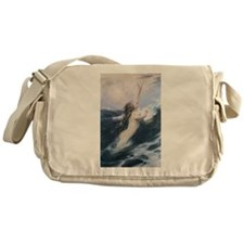 swimming art Messenger Bag