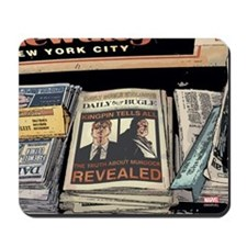 Kingpin Newspaper Mousepad