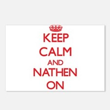 Keep Calm and Nathen ON Postcards (Package of 8)
