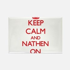 Keep Calm and Nathen ON Magnets