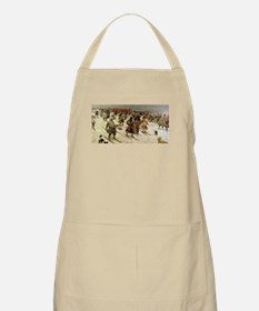 skiing art Apron