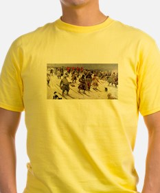 skiing art T-Shirt