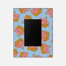 Picnic Basket Pattern Picture Frame
