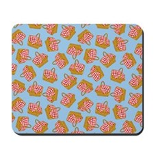 Picnic Basket Pattern Mousepad