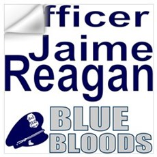 Jaime Reagan Blue Bloodsa Wall Decal