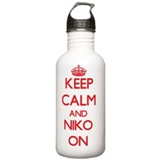 Keep Calm and Niko ON Water Bottle