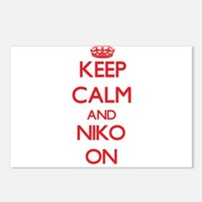 Keep Calm and Niko ON Postcards (Package of 8)