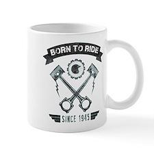 Birthday Born 1945 Born To Ride Mug