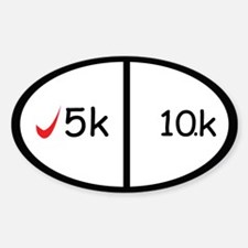5k and 10k Decal
