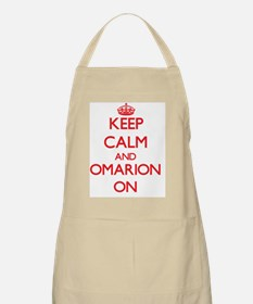Keep Calm and Omarion ON Apron