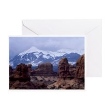 The La Sal Mountains Greeting Cards (Pk of 10