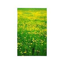 Field of Dandelions Area Rug