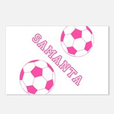 Soccer Girl Personalized Postcards (Package of 8)