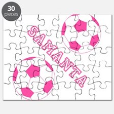 Soccer Girl Personalized Puzzle