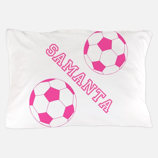 Soccer Girl Personalized Pillow Case