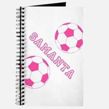 Soccer Girl Personalized Journal