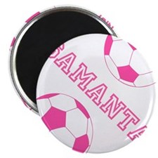 Soccer Girl Personalized Magnets