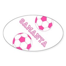 Soccer Girl Personalized Decal
