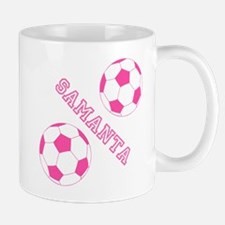 Soccer Girl Personalized Mugs