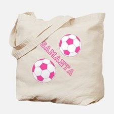 Soccer Girl Personalized Tote Bag