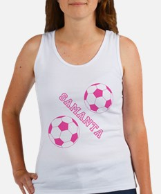 Soccer Girl Personalized Tank Top