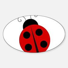 Kids Theme Ladybug Decal
