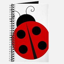 Kids Theme Ladybug Journal