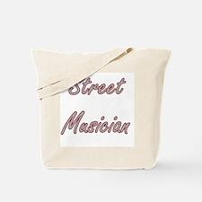 Street Musician Artistic Job Design Tote Bag