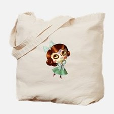 The Day of The Dead Vintage Doll Tote Bag