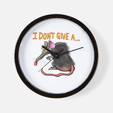 Unique Rats Wall Clock