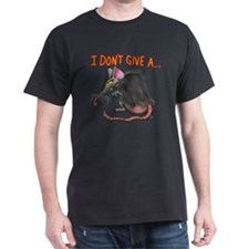 Cute I don't give a rat's ass T-Shirt