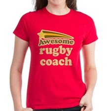 Awesome Rugby Coach Tee