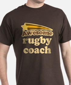 Awesome Rugby Coach T-Shirt