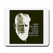 George Bernard Shaw Mousepad