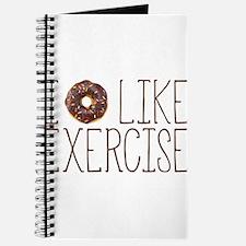I Donut Like Exercise Journal