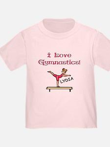 I Love Gymnastics (Lydia) T