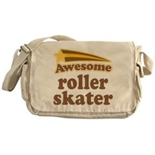 Awesome Roller Skater Messenger Bag