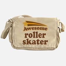 Awesome Roller Skater Messenger Bag