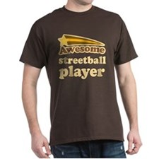 Awesome Streetball Player T-Shirt