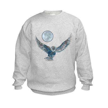 Snowy Owl Kids Sweatshirt