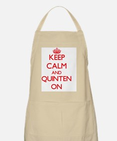 Keep Calm and Quinten ON Apron