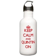 Keep Calm and Quintin Water Bottle