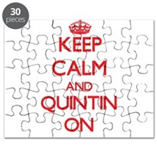 Keep Calm and Quintin ON Puzzle
