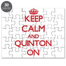 Keep Calm and Quinton ON Puzzle