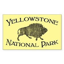 Yellowstone National Park (Bison) Decal