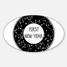 First New Year Milestone Decal