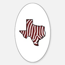 TAMU Zebra Decal