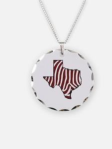 TAMU Zebra Necklace