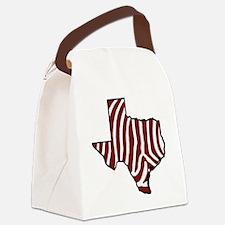 TAMU Zebra Canvas Lunch Bag