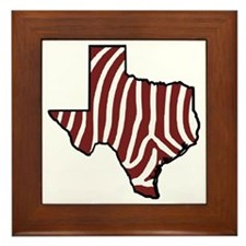 TAMU Zebra Framed Tile